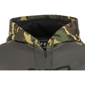 Fox Destrakt Zip Fleece Jacket Men camo